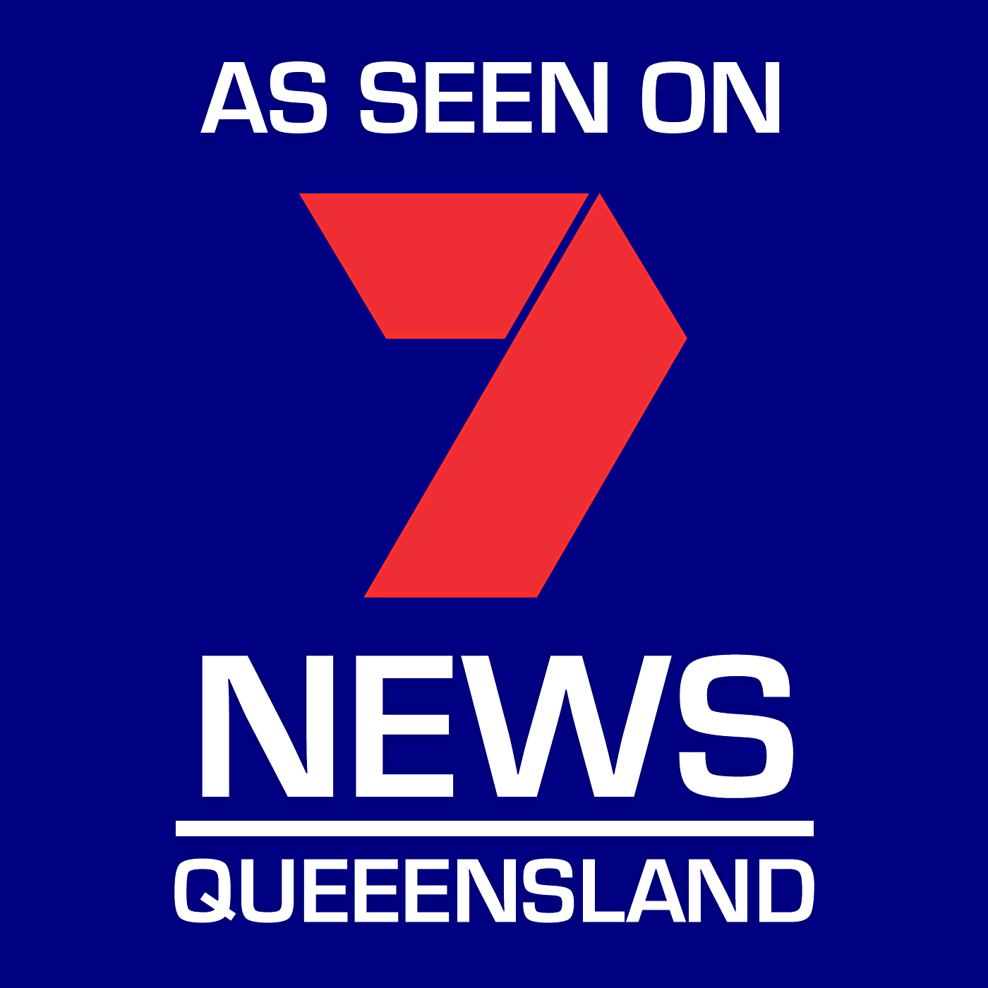 Our Products as Seen on Seven News Queensland